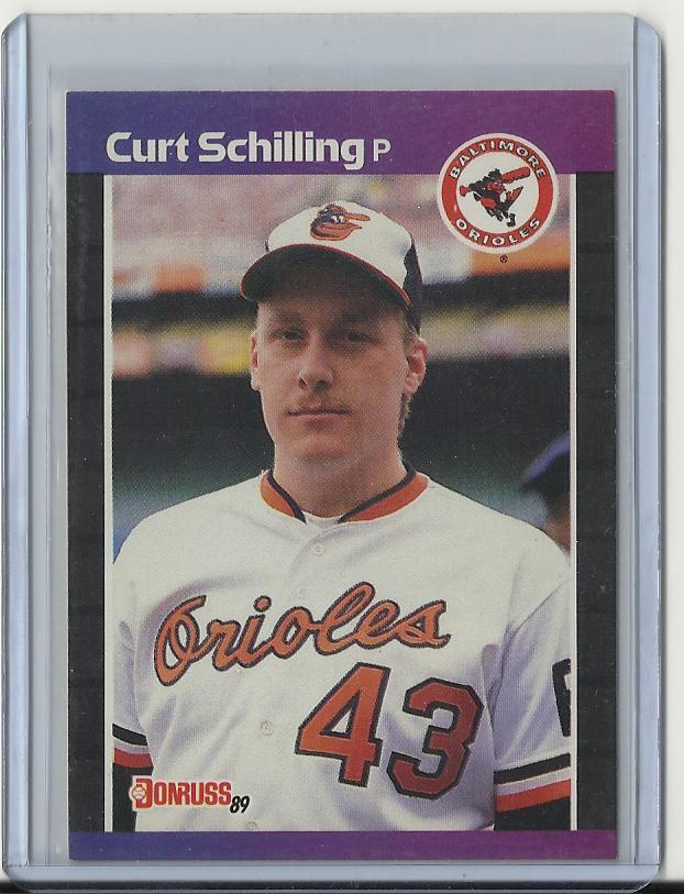 1989 Donruss Curt Schilling RC