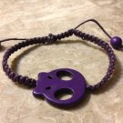 Skull Shamballa Purple