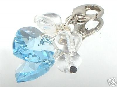 Something Blue Bride Charm made with SWAROVSKI ELEMENTS