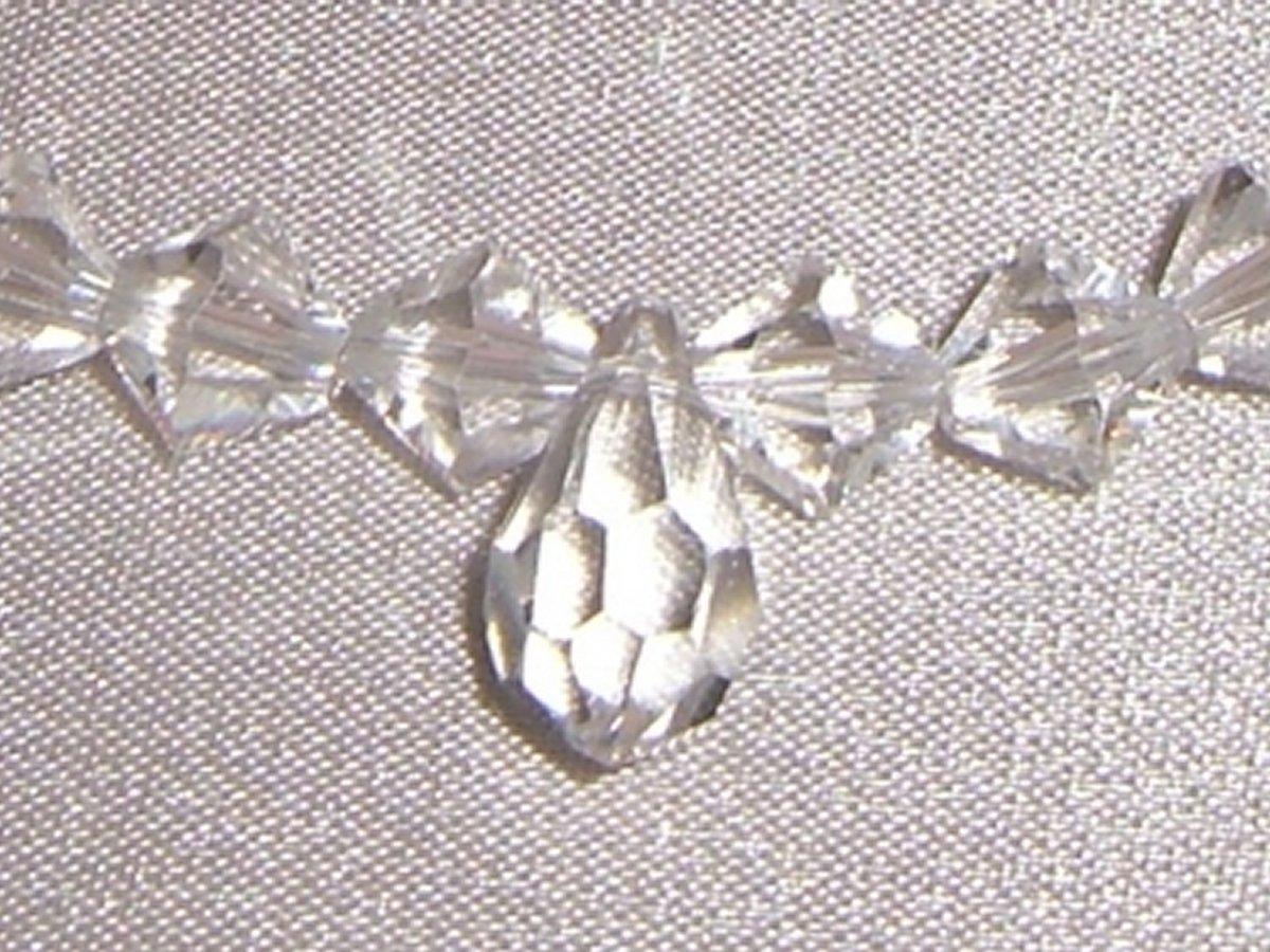 Sterling Silver Crystal Wedding Bridal Bracelet made with SWAROVSKI ELEMENTS