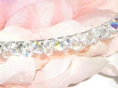 Wedding Crystals Tiara made with SWAROVSKI ELEMENTS
