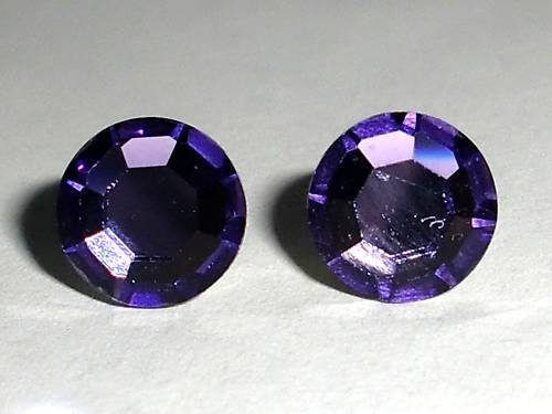 RARE! 7mm Wedding Cardinal Crystal Stud Earrings made with SWAROVSKI ELEMENTS
