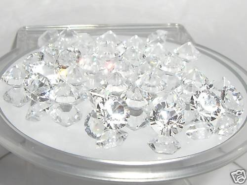 8.2mm Pointed Table Crystals Clear SWAROVSKI ELEMENTS
