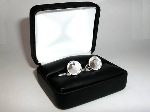 Wedding Crystal Cufflinks made with SWAROVSKI ELEMENTS