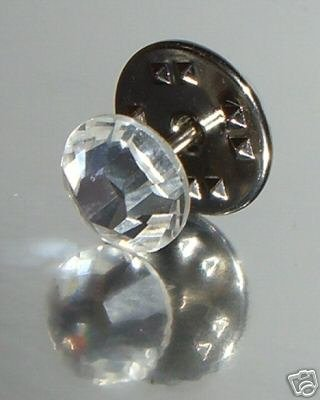 8.5mm Crystal Pin Page Boy made with SWAROVSKI ELEMENTS