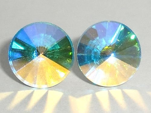 10mm AB Studs Earrings made with SWAROVSKI ELEMENTS