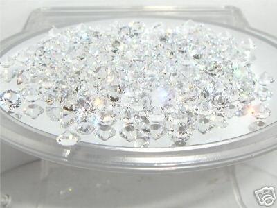 200 4.3mm WEDDING TABLE CRYSTALS CONFETTI DIAMONDS SWAROVSKI ELEMENTS