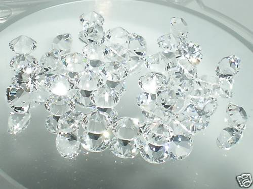 6.2mm Pointed Clear Table Crystals SWAROVSKI ELEMENTS