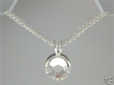 11mm Flatback Necklace made with SWAROVSKI ELEMENTS