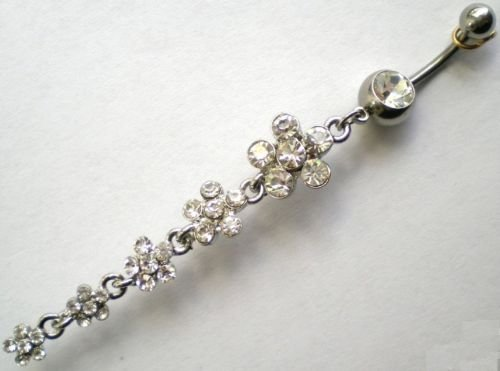 Sale!! Belly Bars Garland of Flowers Sale!! WOW