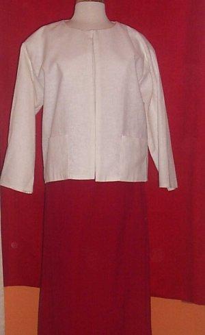 Two Piece Linen Suit