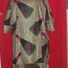 Green African Print Set