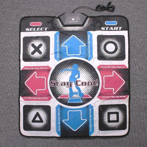 DDR Dance mat Pads Non-Slip Dancing Step Dance Mat PC USB Mats Pads