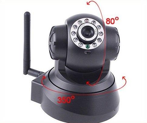 Night Vision LED IR Webcam Web Camera WiFi Wireless IP Camera