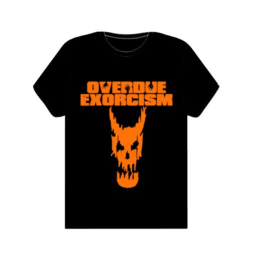 Orange Logo and Skull