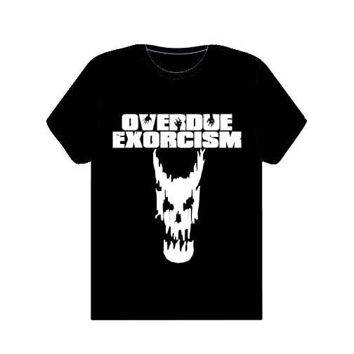 White Logo and Skull