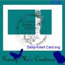 Daisy Insert Card