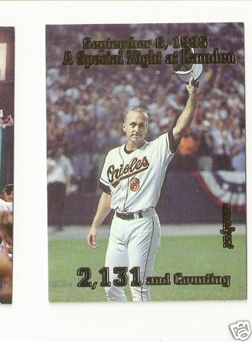 CAL RIPKEN, JR ANALYST FAN FAVORITES 1996 GOLD FOIL