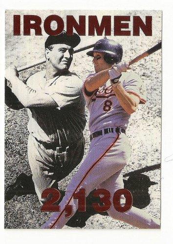 CAL RIPKEN, JR IJ  HEADLINE 1 Copper Parallel Lou Gehrig  Rarest