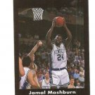 Jamal Mashburn Error Card or Printer's Proof IJ Black Border RARE 1/3? Kentucky