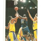Jamal Mashburn Error Card or Printer's Proof IJ White Border RARE 1/3? Dallas