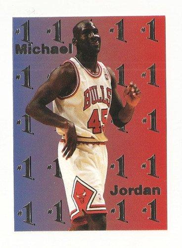 MICHAEL JORDAN Team Pick #1 SPECIAL SILVER Foil Parallel  1/250