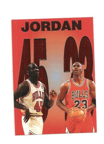 "MICHAEL JORDAN '95 MARKET PICK #2 copper Foil Parallel  ""45-23"" CARD"