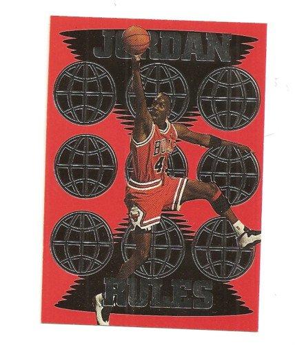 Jordan Team Pick 1 SILVER Foil Parallel  1995 1/200 globe version rare