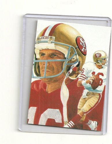 Joe Montana Hand bonded Card from Magazine #2 Unique 1/3 Oddball Football Card
