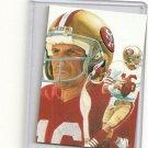 Joe Montana Hand bonded Card from Magazine #2 Unique 1/3 Oddball Football Card