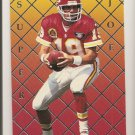 Joe Montana TEAM PICK #4 INVESTOR'S SCARCE SILVER Foil Parallel  1995
