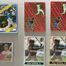 Ken Griffey 6 Card LOT Very Rare Topps Miniature Copper
