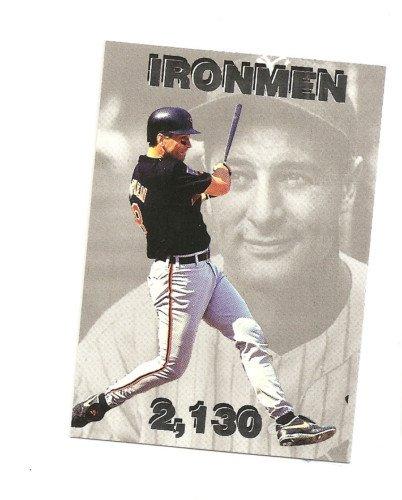 CAL RIPKEN, JR IJ Headline #1 Lou Gehrig silver foil Parallel 1/250