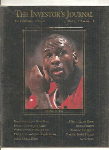 Investor's JOURNAL #3 Michael Jordan 18 Cards 3-92