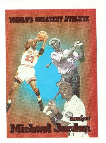 Michael Jordan Fan Favorite 3 Sport  Copper Foil Parallel  Analyst