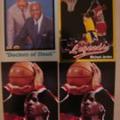 MICHAEL JORDAN 4 CARD LOT LEGENDS SPOTLIGHT DRS OF DUNK