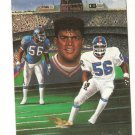 Lawrence Taylor Hand Bonded Artwork Football Card Plain Black Back 1/5 Unique