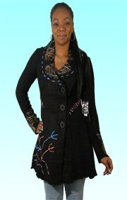 Brand new Sioni By Milano Fall/Holiday  Size S Black Knit Cardigan