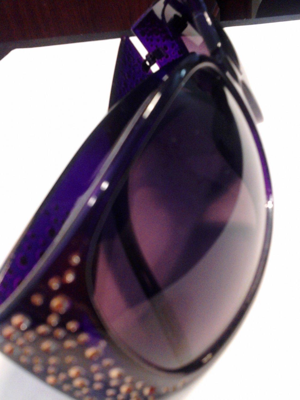 Brand New beautiful Purple UV Sunglasses With Bling