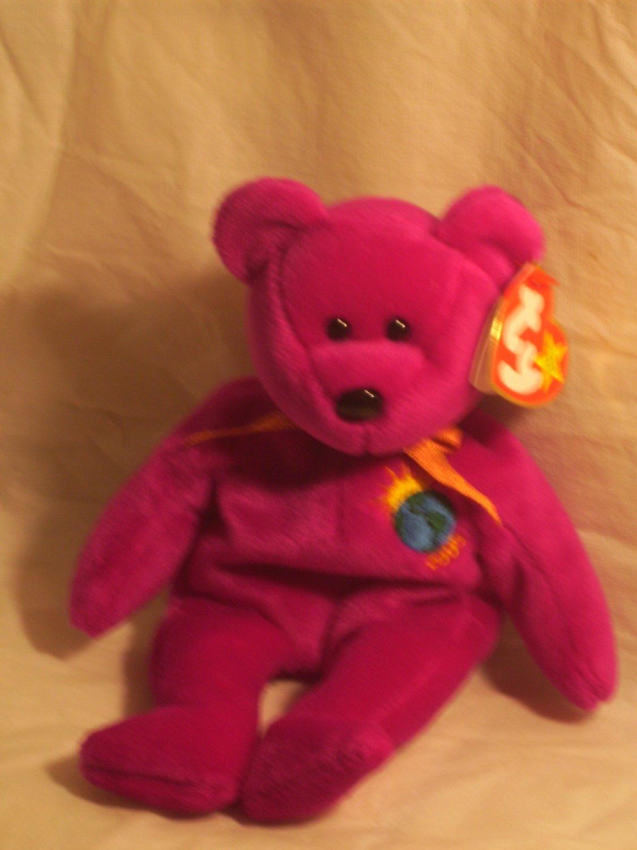 "Millennium ""the bear""**RETIRED**Ty beanie baby"