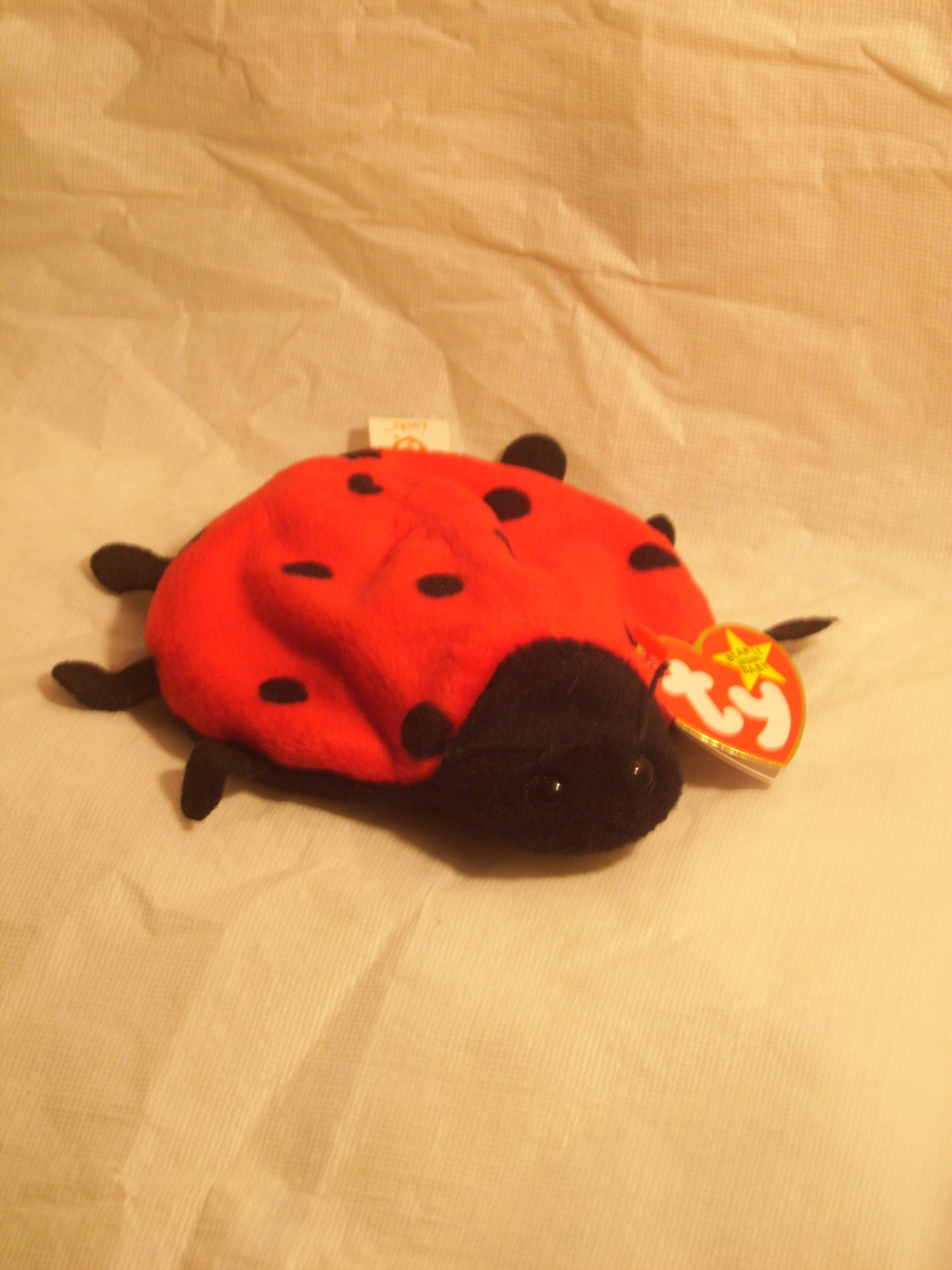 """Lucky """"the ladybug""""**RETIRED**Ty beanie baby"""