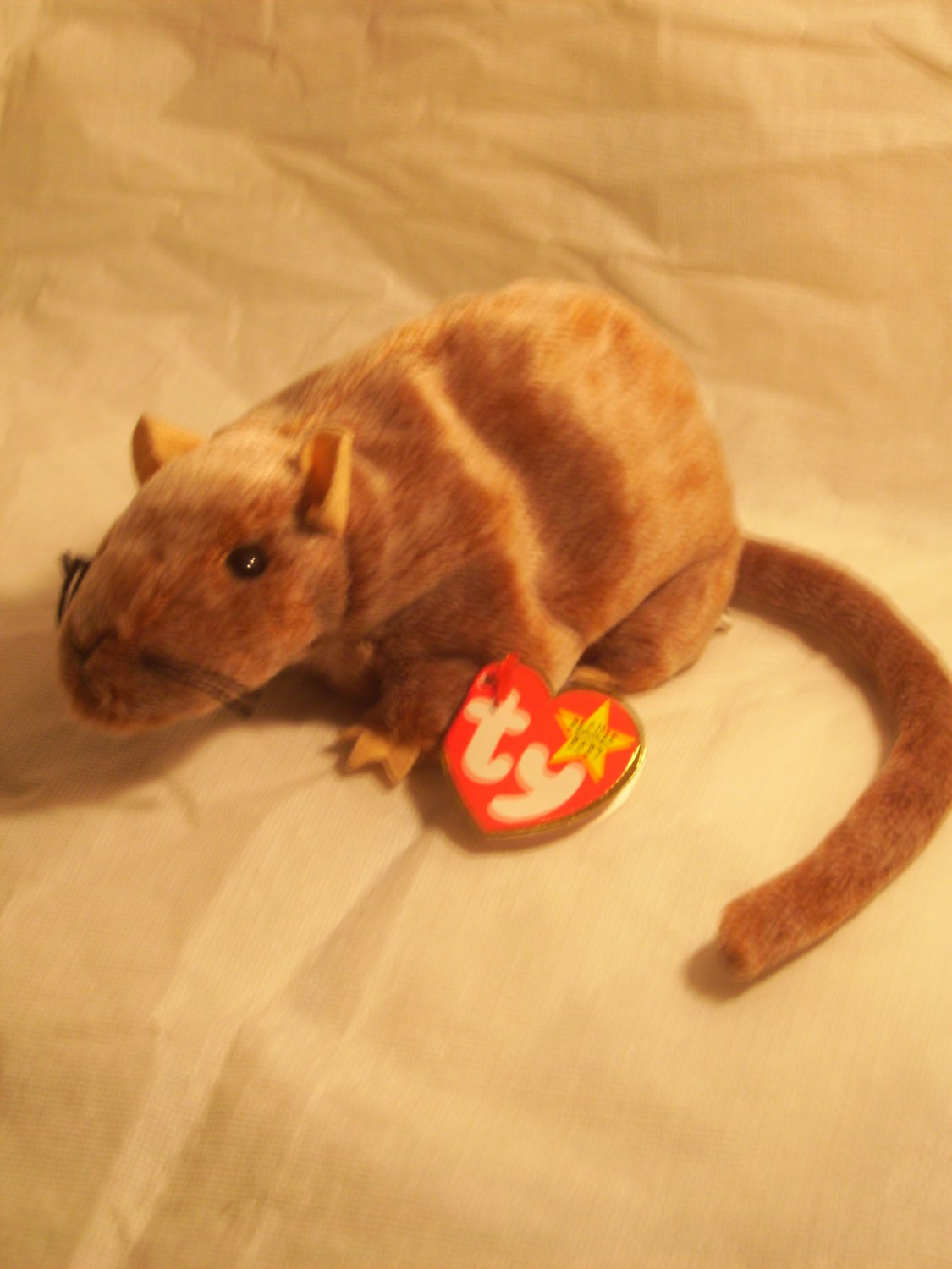 """Tiptoe """"the mouse"""" **RETIRED**Ty beanie baby"""