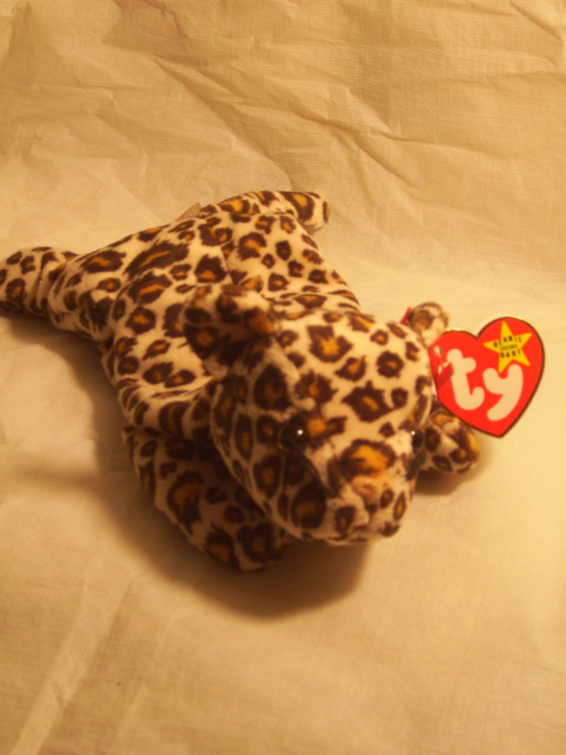 "Freckles ""the leopard""**RETIRED**Ty beanie baby"