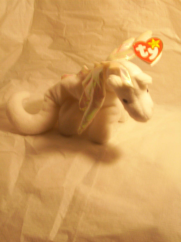 "Magic ""the dragon""**RETIRED**Ty beanie baby"