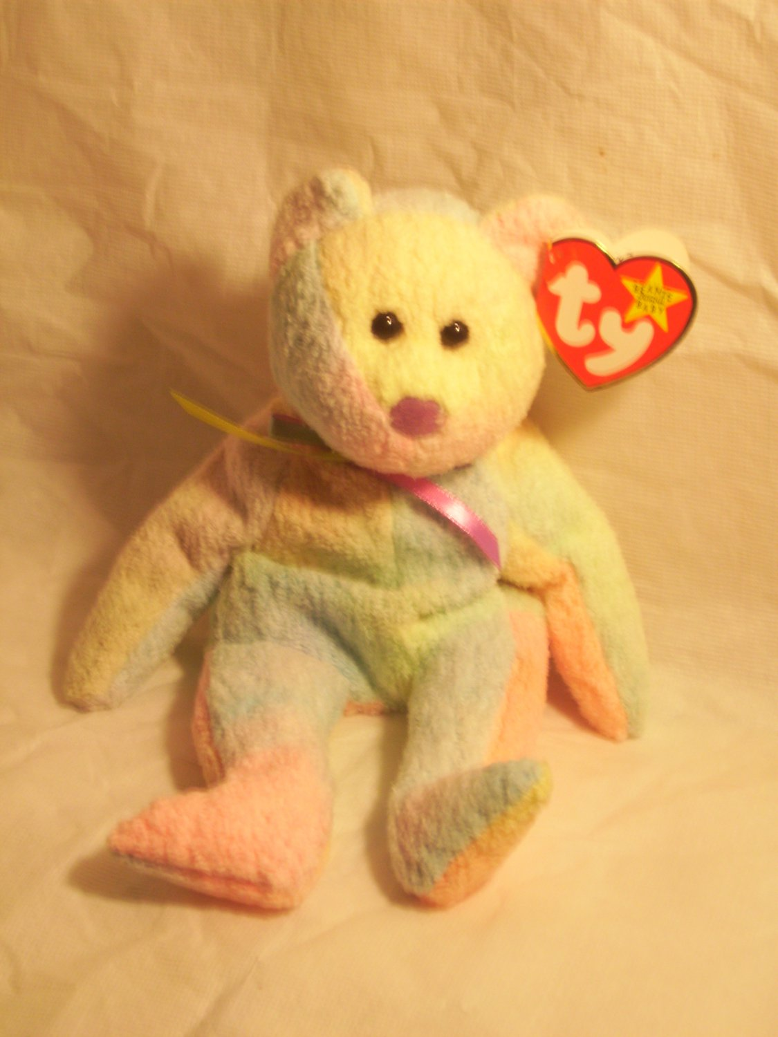 B.B. bear**RETIRED** Ty beanie baby