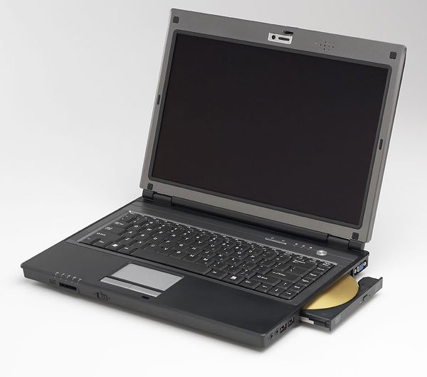 Compal HGL31 laptop notebook Celeron M 410 100GB  512MB DVD/CD-RW fingerprint reader - $20 rebate