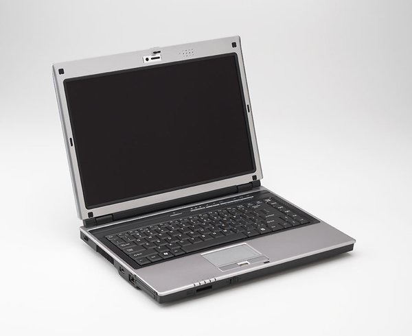 Compal HGL30 laptop notebook Celeron M 410 100GB 512MB DVD/CD-RW fingerprint reader - $25 rebate