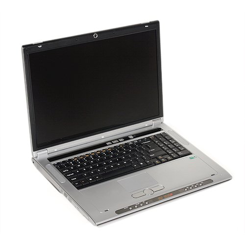Clevo M570U WSXGA laptop notebook Core 2 Duo Merom T5500 nVidia 7950GTX 80GB 1GB DVD