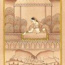 Ragini Kachaili Miniature Painting India Rajasthani Ethnic Handmade Ragamala Art