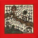 Indian Warli Art Handmade Maharashtra Tribal Miniature Decor Varli Folk Painting